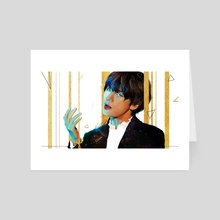 Kim Taehyung - Art Card by Viyanca (Commissions Open)