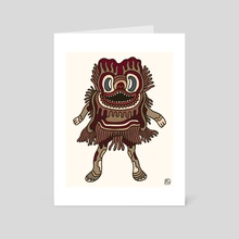 Olmeca Monster of the day (May 31) [Year 1] - Art Card by Royal Glamsters