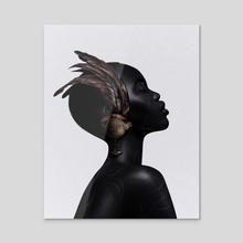 Libra - Acrylic by Laura H. Rubin
