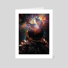 Spacenaut  - Art Card by Marischa Becker