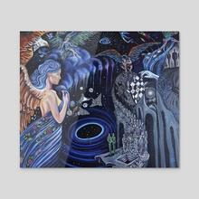 Spiritual Warfare - Acrylic by Jessica Shilling