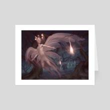 Mysterious Pathlighter - Art Card by Kimonas