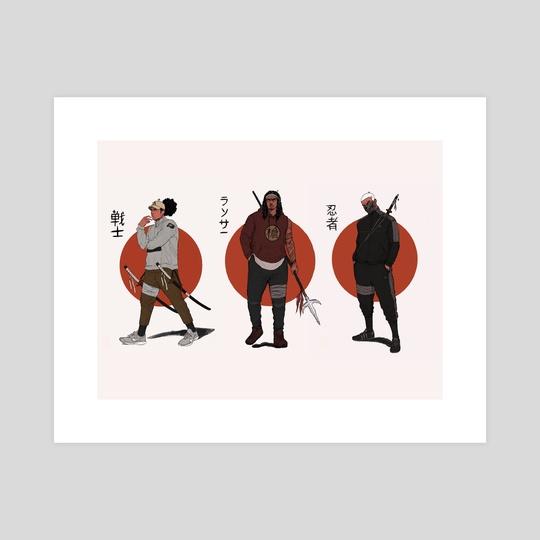 The Trio by Cedric Joseph