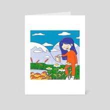 Sunny Side Days - Art Card by Christina Luka