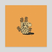 Kaki - Canvas by Danielle Taphanel