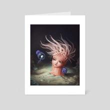 Anemone - Art Card by Luz Tapia