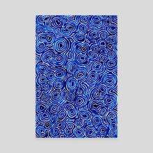 watercolor: sea - Canvas by Aleta Pérez
