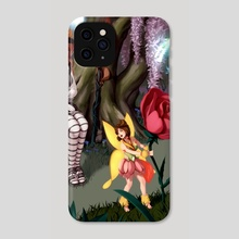 The witch and the faerie - Phone Case by oxcoxa