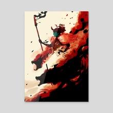 Destroyer of Asgard - Acrylic by bardicious