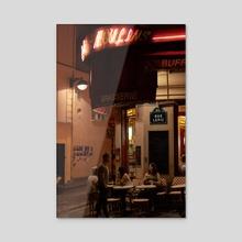 Montmartre  - Acrylic by En Bait