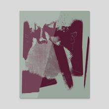 Tinge 2 - Acrylic by Lukas Carlson
