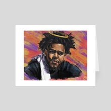 J. Cole - Art Card by Bryce Cobbs
