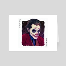 The new Joker - Art Card by Joao Leal