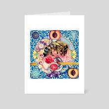 pollen: part II - Art Card by Jenny Lloyd