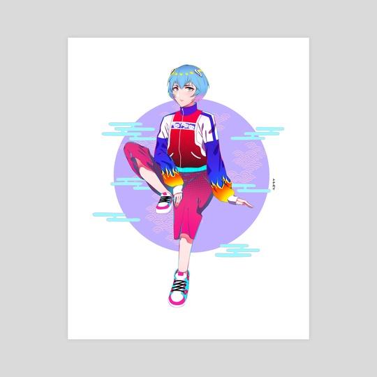 Rei Ayanami by Tonakai