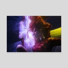 Underwater Portrait 4 - Canvas by Rafal Makiela