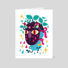 CRY BABY - Art Card by Jasmin Dreyer