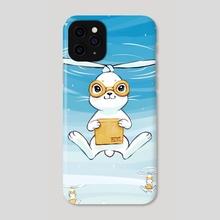 Postal Bunny - Phone Case by Indré Bankauskaité