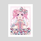 Sweet & Colorful - Art Print by Inma Ruiz