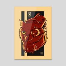 MECHANIMALS_OWL - Acrylic by dwi iswahyudi