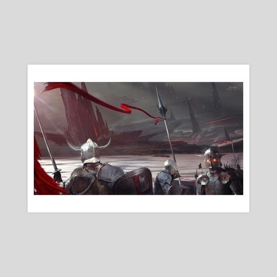 Crusaders by Kuldar Leement