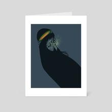 Unseeing - Art Card by Julia Sonmi Heglund