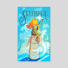 Skyfisher - Canvas by Ashenwave
