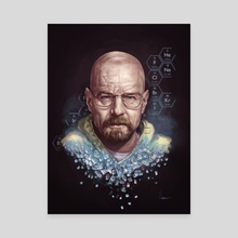 Walt - Canvas by Matt Hubel