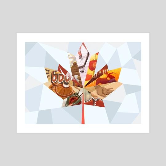 Canadian Mosaic by Clayton Nguyen