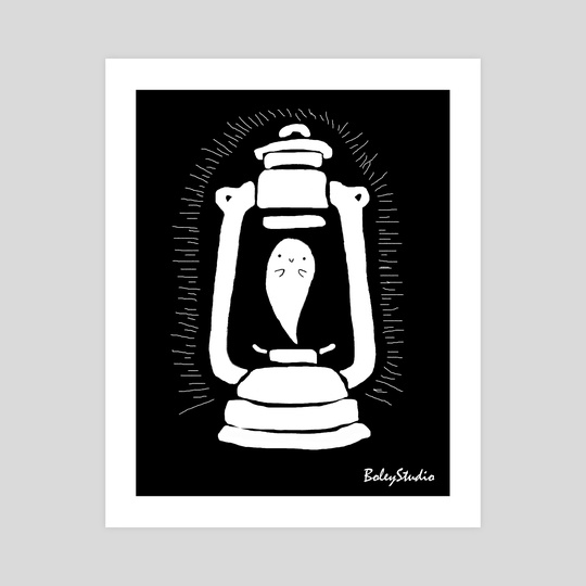 Ghost Lantern by Arienne Boley