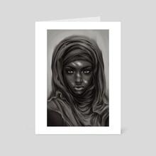Hijab - Art Card by Antarctic Spring