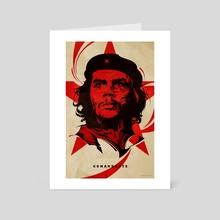 Comandante - Art Card by Nikita Abakumov