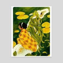 The Kelpie - Canvas by Julie W.