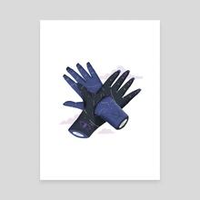 Handshake - Canvas by Rodrigo Fortes