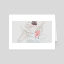 Heart - Art Card by Cynthia Tedy