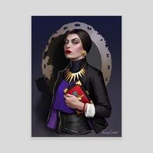 Evil Queen - Canvas by Fernanda Suarez