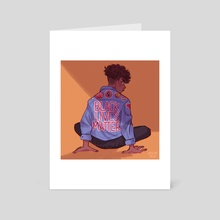 BLM - Art Card by Apoline Read