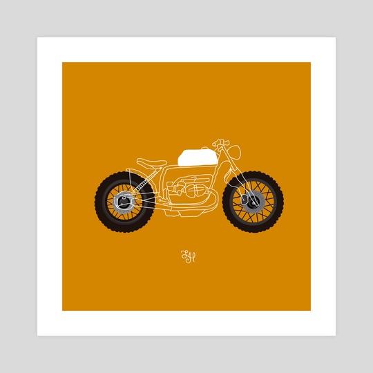 Minimal bike by LeftHandedGraphic
