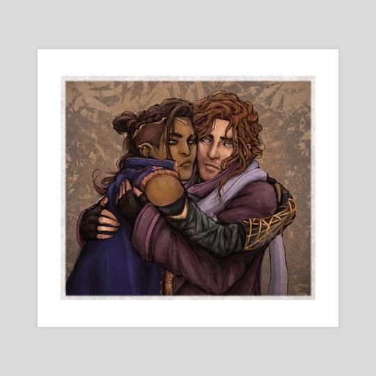 Empire kids hug by Madeline Morganx