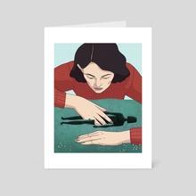 Anxiety 3 - Art Card by Lily Padula