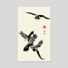 Eagle - 62 - Canvas by River Han