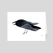 Raven - Art Card by Melissa  van der Paardt
