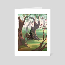 Fernik Ninfe #2 Vorja - Art Card by Laura Faraci