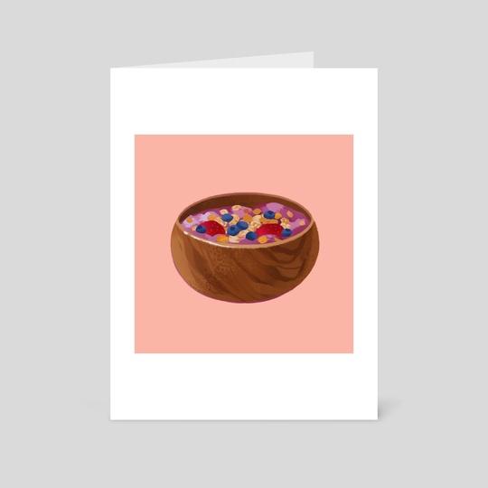 acai bowl by Bonnie Gao