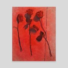 Trinity - Canvas by Rachel Barron