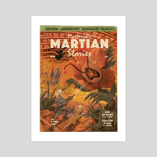 Mysterious Martian Stories No. 1 by john sumrow