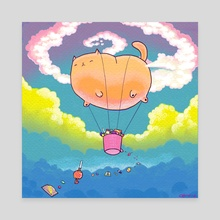 Candy Delivery - Canvas by Cassie Graus