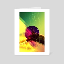 Lobotomy - Art Card by Zoltan Szalay