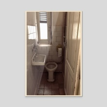 WC - Acrylic by Juan Siquier
