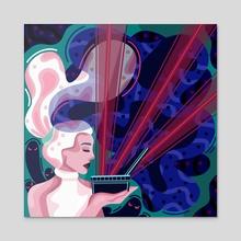Pandora's Box - Acrylic by Rae